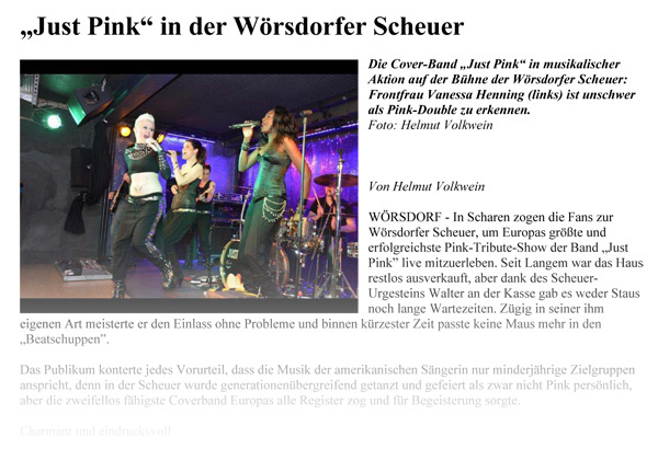 2014 01 13 REV Just Pink in der Woersdorfer Scheuer