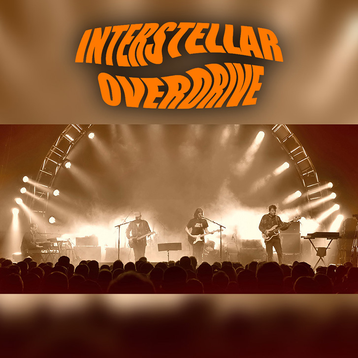 Interstellar Overdrive live beim Ziegelei Open Air der Scheuer 2017
